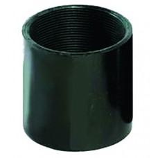 Втулка соединительная М25, цвет чёрный