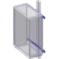 Комплект крепления шкафов Conchiglia к столбу (ширина шкафа- 580 мм)