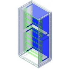 Комплект для крепления монтажной платы к монтажной раме, Сonchiglia, шкаф 1390 х 580 х 460 мм