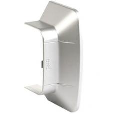 Ввод в стену 110х50 мм, цвет серый металлик