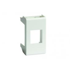 Адаптер для keystone, VIVA, 1 мод, цвет серый