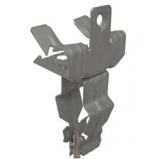 Держатель для крепления трубы к балке 15-20 мм диаметр 18-22 мм гориз.монт.
