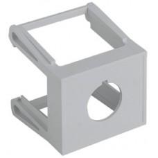 Адаптер для установки кнопки на DIN-рейку