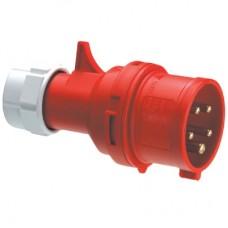 Вилка кабельная IP44 16A 2P+E 230V