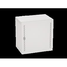 Шкаф телекоммуникационный навесной, 20 U (1000х600х400) дверь метал,RAL7035