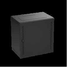 Шкаф телекоммуникационный навесной, 16 U (800х600х400) дверь метал,RAL9005
