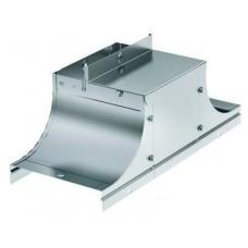 Крышка-ответвитель TSS (плоск) 200/80 в комплекте с крепежными элементами и соединительными пластинами, необходимыми для
