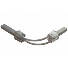 Гибкий поворот шинопровода, Cu, 6P+6P, 40A