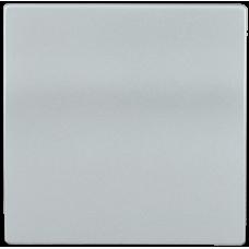 HB-1-0-БС Накладка 1 клав. BOLERO серебряный IEK