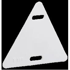 Бирка кабельная У-136 (треугольник 55х55х55 мм) IEK